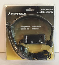 Cobra PMR-VOX MicroTALK Voice Operated Headset Microphone
