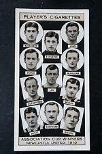 Newcastle United   1910  FA Cup Winning Team  Original 1930's Photo Card  VGC