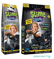 Black Slime BATMAN SLIME BAFF Just Add Water to Make Black Slime! Bath Zimpli