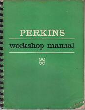 Perkins 4.108 Diesel Motor Fábrica Manual De Taller
