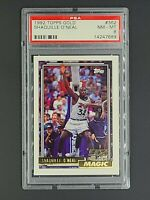 1992 1992-93 Topps Gold #362 Shaquille O'Neal RC Rookie HOF Shaq PSA 8 NM-MT