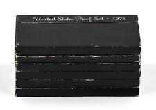 1978-S US MINT PROOF COINS 6 SET LOT COLLECTIBLE COINS EISENHOWER DOLLAR UNC OGP