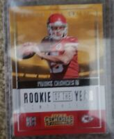 2017 Patrick Mahomes Panini Contenders Rookie of the Year Contender #RY-3