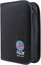 Padi Binder - Adventure Log, Nylon Fabric, Black  79136