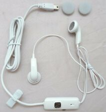 GENUINE BULK PACK WHITE HTC HS S200 STEREO HANDSFREE HEADSET SUITABLE FOR O2 ...