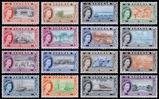 Bahamas Scott 158-173 (1954) Mint VLH VF Complete Set M