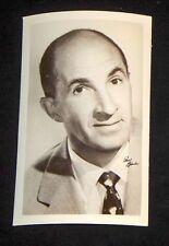 Ben Blue 1940's 1950's Actor's Penny Arcade Photo Card