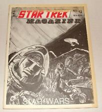 1977 U.F.P.'S STAR TREK MAGAZINE #4 STAR WARS ISSUE SPACE 1999 JAMES BOND
