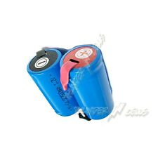 10 pcs Sub C SubC 2500mAh Ni-Cd NICD Rechargeable Battery Cell with Tab Blue