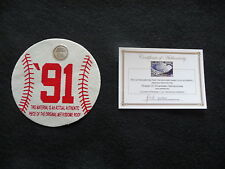 1991 Minnesota Twins Baseball Game Used METRODOME ROOF!