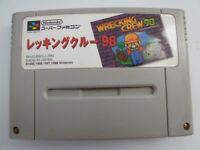 USED NINTENDO SUPER FAMICOM SNES WRECKING CREW 98 Japan Import