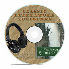 THE MEMOIRS OF SHERLOCK HOLMES, DOYLE, CLASSIC AUDIOBOOK LITERATURE MP3 CD-A26