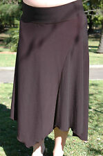 Maternity Clothing Black Jersey Swirl Skirt NWT work, party or casual v. comfy!