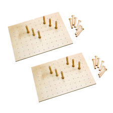 Rev-A-Shelf 16 Peg Board System for Drawers Up to 39 Inches, Walnut (2 Pack)