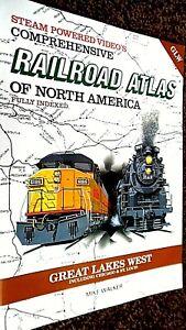 SPV'S COMPREHENSIVE RAILROAD ATLAS OF NORTH AMERICA: GREAT LAKES WEST (1996)