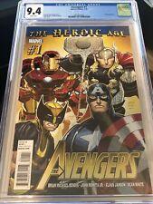 Avengers #1 Marvel Comics 7/10 CGC 9.2 The Heroic Age