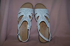 Easy Street White Bolt Women's Sandals NEW in Box Color: White Size 10M  Comfort