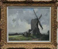 JAMES WALLACE BRITISH IMPRESSIONIST OIL PAINTING WRAWBY LINCOLNSHIRE 1872-1911