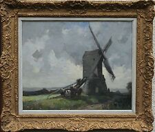 JAMES WALLACE 1872-1911 BRITISH IMPRESSIONIST OIL PAINTING WRAWBY LINCOLNSHIRE