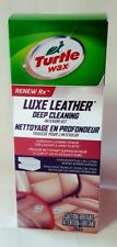 Turtle Wax Renew Rx Luxe Leather Deep Cleaning Interior Kit, 8oz w Stain Erasers