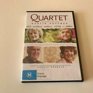 Quartet (DVD movie) Dustin Hoffman Maggie Smith Billy Connolly brand new sealed