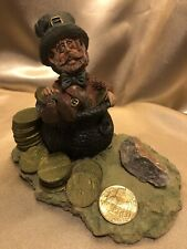 Authentic Biarney Stone Irish Leperchaun Figurine From Ireland