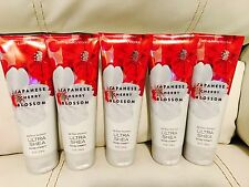 5 Bath & Body Works Japanese Cherry Blossom 24 Hour Body Cream Free Shipping