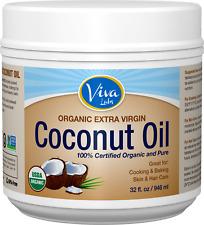 Aceite De Coco Natural Extra Virgen Comestible Para La Piel El Cabello Organico