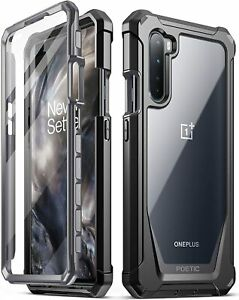 Poetic For OnePlus Nord Case, Dual Layer Shockproof Protective Cover Black