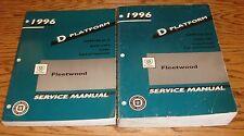 Original 1996 Cadillac Fleetwood Shop Service Manual Vol 1 & 2 Set 96