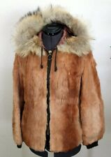 Genuine Vintage Rabbit Fur Coat