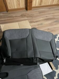 2021 Ford F150 XLT Crew Cab Factory OEM Replacement Gray Seat Cloth