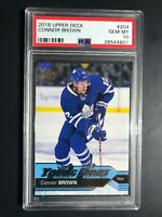 2016-17 Upper Deck Connor Brown Young Guns Rookie PSA 10