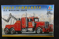 XW073 ITALERI 1/24 maquette camion levage 794 Road Commander US Wrecking Truck