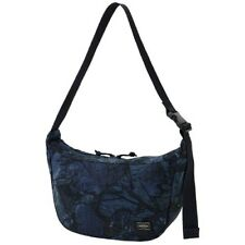 Porter Yoshida Shoulder Bag In Navy Leafshade Camo