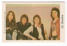 1970s Swedish Pop Star Card #24 British Livin Next Door To Alice group Smokie