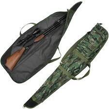 NEW Camo Rifle Gun Padded Carry Case Shotgun Bag Gunslip NGT Plus Pocket