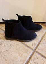 old navy black booties size 13 euc
