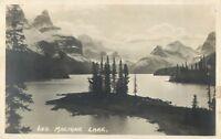Postcard Maligne Lake, Jasper Park, Canada 1924 A28