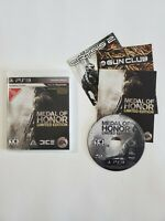 Medal Of Honor Limited Edition Game PS3 Playstation 3 Complete w Manual TESTED