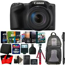 "Canon PowerShot SX420 IS Digital Camera + 62"" Monopod and Accessory Kit"