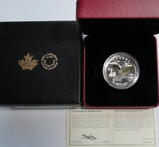 Canada 2018 $20 3D Canadian Goose 1 Oz Silver Coin