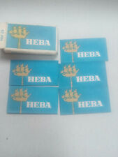 5 Safety Razor Shaving Steel Blades Pack blades Neva soviet