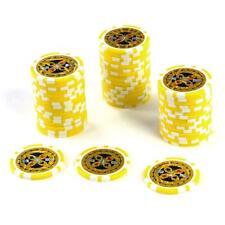 50 Poker Chips Casino Gewicht 11 Gramm Metallkern 1 - 10000 1000
