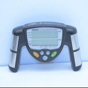 Omron Fat Loss Analyzer Monitor Model HBF-306C Rating Dc 3v BMI Monitor Tracker