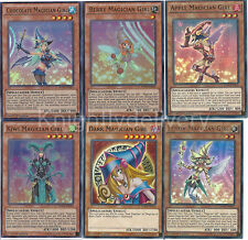Yugioh Dark Magician Girl Set - DMG + Chocolate + Berry + Apple + Kiwi + Lemon