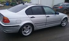 BMW E46 320 DIESEL 2001 BREAKING ALL PARTS M47 ENGINE N/S/FRONT O/S/REAR SILVER