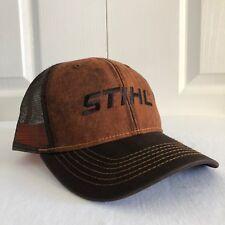 Stihl Dirty Wash Fabric and Mesh Hat / Cap