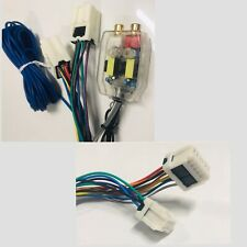 Factory Radio Plug n Play Amp Sub Add-on Line Out Converter For Nissan