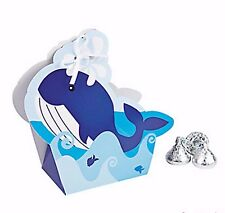 Nautical Sailor Favor Boxes; Birthday or Shower favor box; Ahoy It's A Boy favor